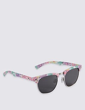 Kids' Floral Sunglasses (Older Girls)