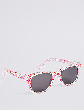 Smaller Frame Ditsy Print Sunglasses, PINK MIX, catlanding