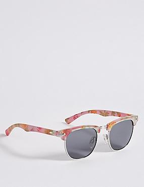 Floral Club Master Sunglasses, MULTI, catlanding