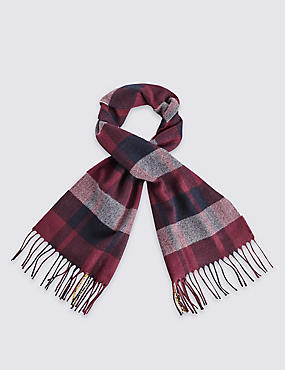 Kids' Checked Scarf