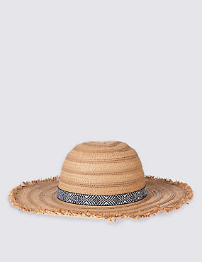 Kids' Fringe Summer Hat