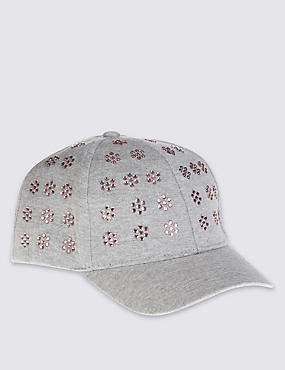 Kids' Sequin Baseball Cap