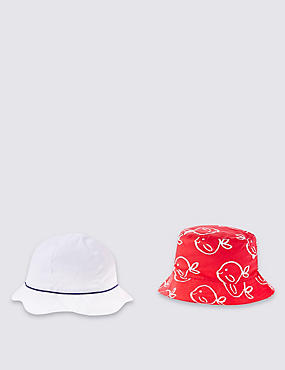 Kids' 2 Pack Assorted Hats