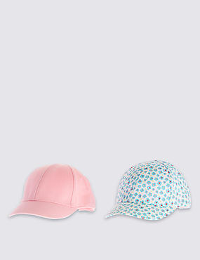 2 Pack Pure Cotton Assorted Hats