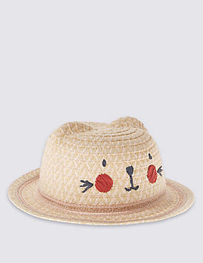 Novelty Straw Hat