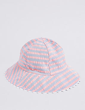 Kids' Striped Summer Hat (6 Months - 6 Years)