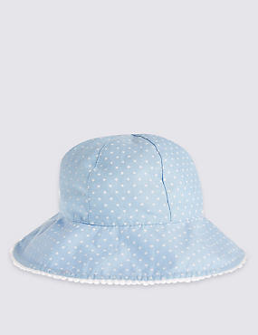Kids' Star Print Hat