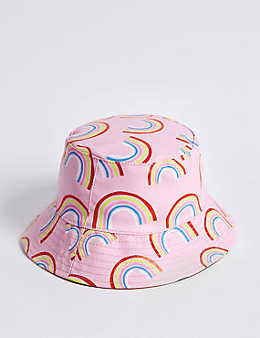 Kids' Water Repellent Rainbow Print Hat (3 Months - 6 Years)