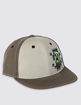 Kids' Minecraft Baseball Cap