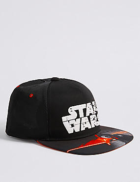 Kids' Star Wars™ Baseball Cap (3 - 14 Years), BLACK MIX, catlanding