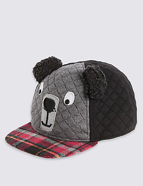 Kids' Bear Face Novelty Baseball Cap
