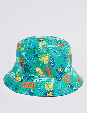 Kids' Reversible Summer Hat (3 Months - 6 Years)