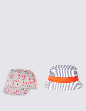 Kids' 2 Piece Cap & Hat