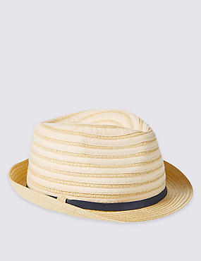 Kids' Collapsible Trilby Hat