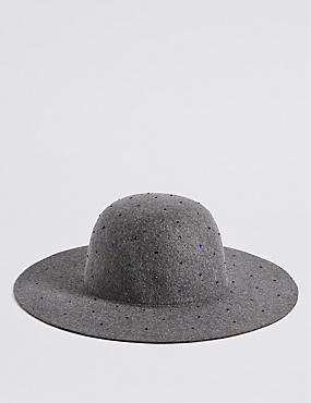Kids' Pure Wool Felt Floppy Hat