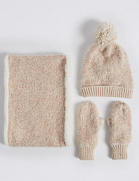 Kids' Hats, Scarves & Gloves Set