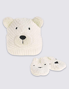 Kids' Bear Novelty Hats & Gloves Sets