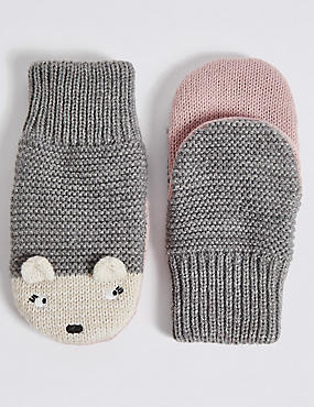 Kids' Hedgehog Mittens