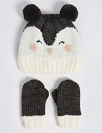 Kids' Hat & Mittens