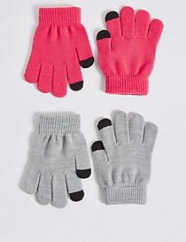 Kids' 2 Pack Gloves