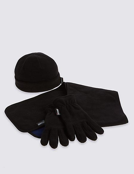 Kids' Hat, Scarf & Fleece Gloves Set with Thinsulate™