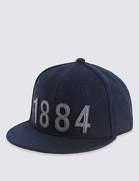 Kids' Wool Blend 1884 Slogan Cap