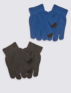 kids' 2 Pack Touch Screen Magic Gloves