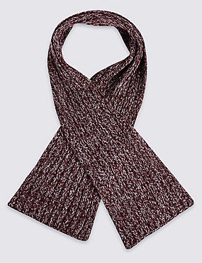 Kids' Ribbed Scarf