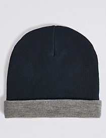 Kids Water Resistant Reversible Beanie