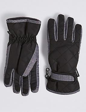 Kids' Thermowarmth™ Gloves, BLACK MIX, catlanding