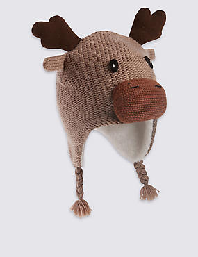 Kids' Moose Trapper Hat