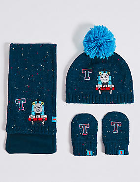 Kids' Hats & Scarves with Mitten Sets