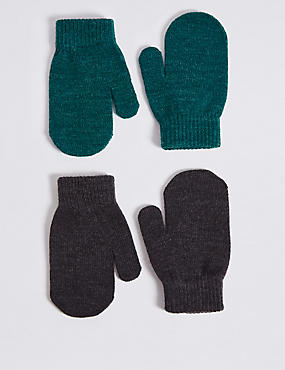 Kids' 2 Pack Mittens
