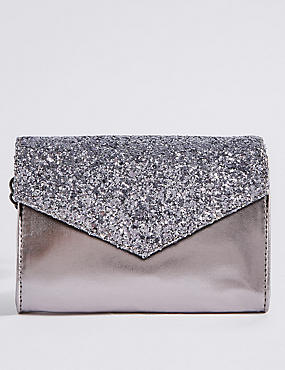 Kids' Sequin Envelope Cross Body Bag