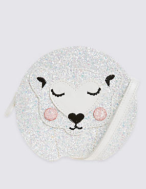Kids' Faux Leather Polar Bear Cross Body Bag