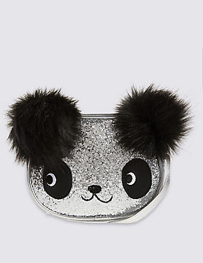 Kids' Faux Leather Panda Cross Body Bag