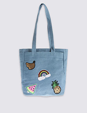 Kids' Badge Shopper Bag