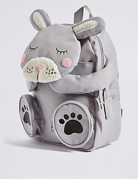 Kids' Rabbit Novelty Rucksack
