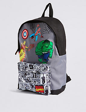 Kids' Avengers™ Backpack, GREY MIX, catlanding