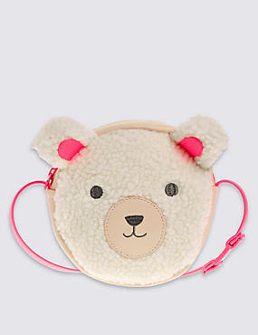 Kids' Bear Cross Body Bag