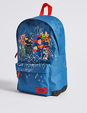 Kids' Justice League™ Backpack, BLUE MIX, catlanding