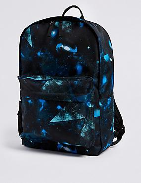 Kids' Water Repellent Backpack, BLUE MIX, catlanding