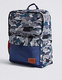 Kids' Camouflage Backpack