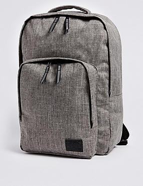 Kids' Water Repellent Ultimate Backpack, GREY MIX, catlanding