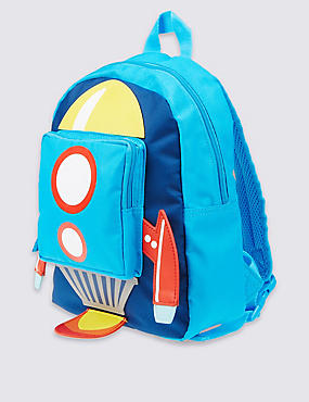 Kids' Rocket Rucksack Bag