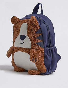 Kids' Borg Tiger Backpack, NAVY MIX, catlanding