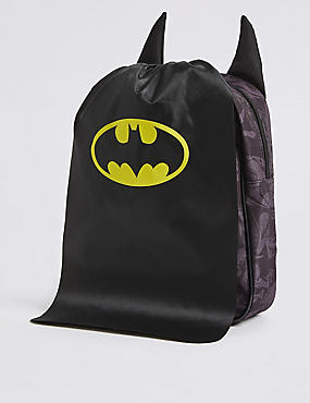 Kids' Batman™ Rucksack, BLACK MIX, catlanding