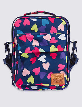 Kids' Heart Print Lunch Bag with Thinsulate™