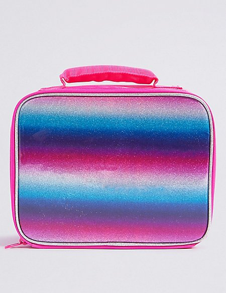 Kids' Rainbow Glitter Lunch Box with Thinsulate™