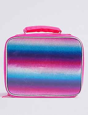Kids' Rainbow Glitter Lunch Box with Thinsulate™, MULTI, catlanding